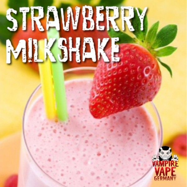 Vampire Vape Strawberry Milkshake UK Aroma - 30ml