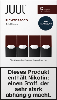 Juul Rich Tobacco 9mg Pods