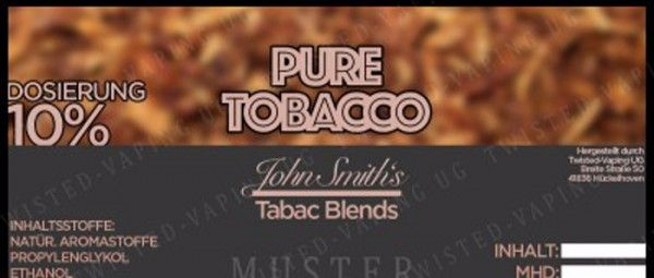 Twisted John Smith´s Pure Tobacco