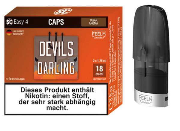 Easy 4 Caps Devils Darling 9 mg