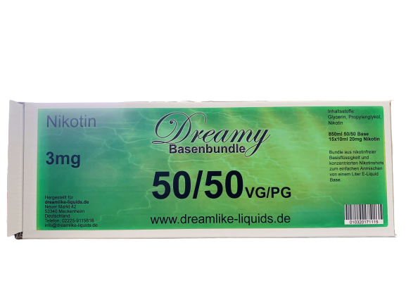50/50 VPG Basenbundle 3 mg