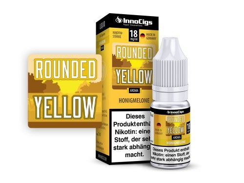 Rounded Yellow 3mg